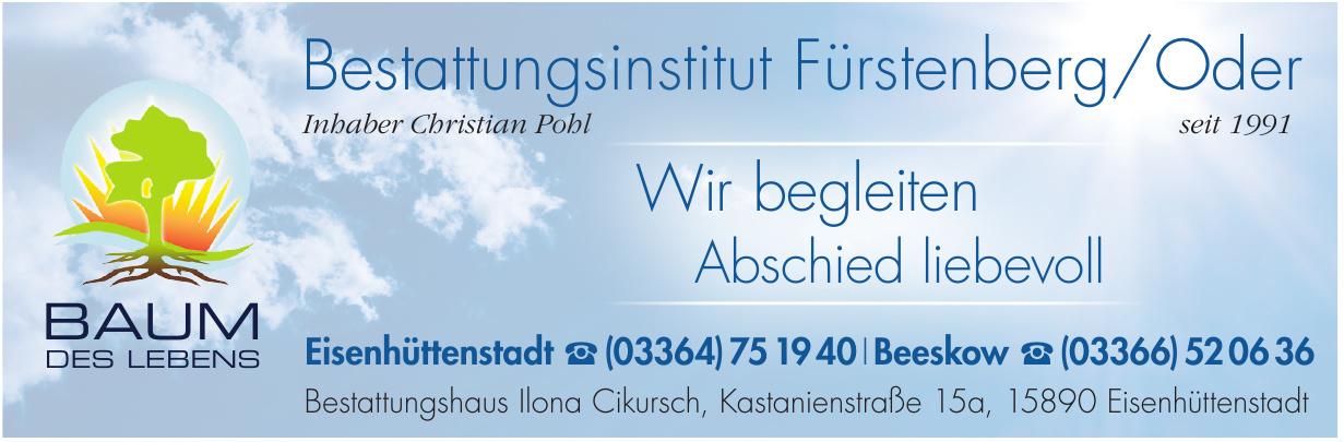 Bestattungsinstitut Fürstenberg/Oder Baum des Lebens