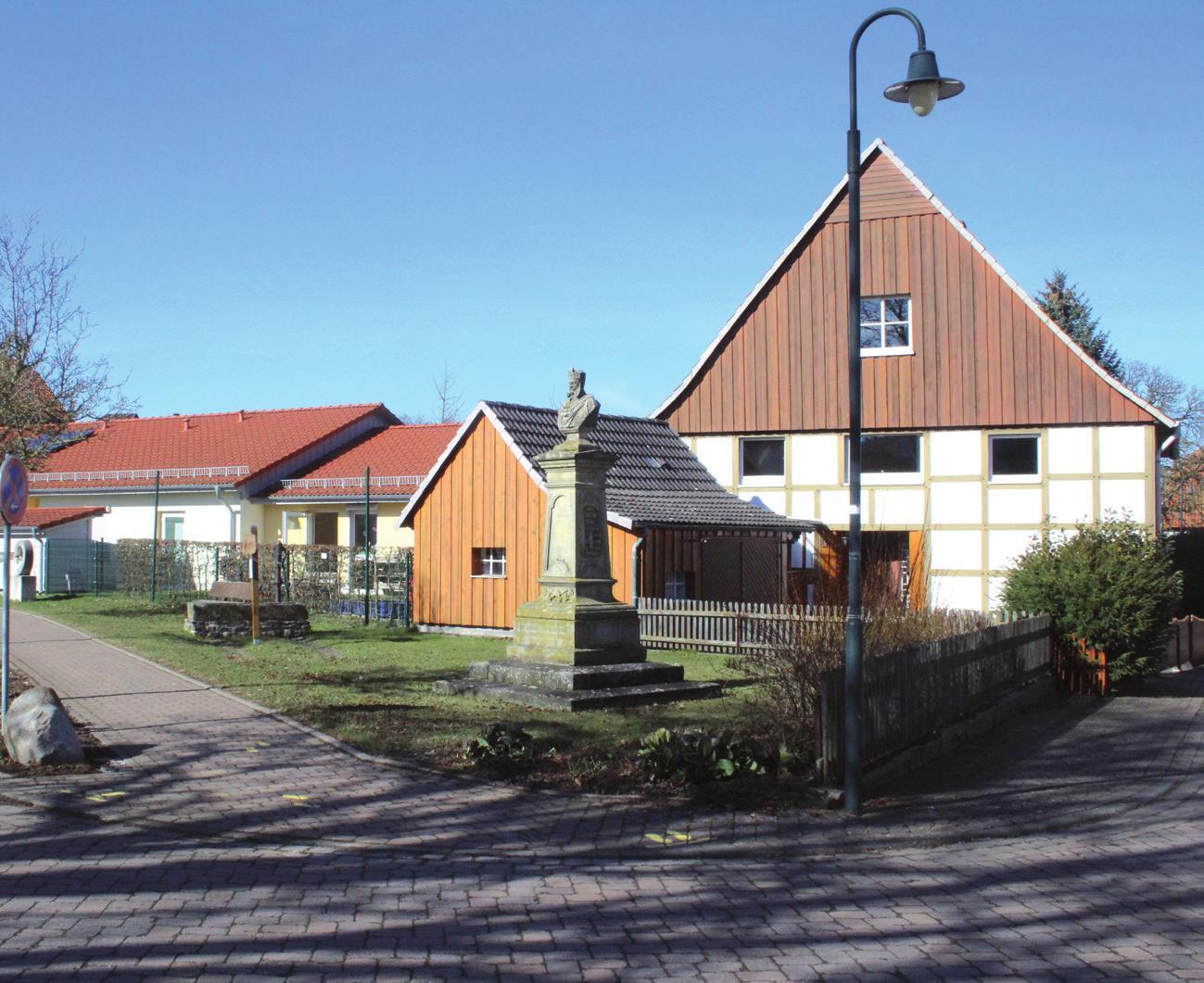 Soll wachsen: die Kindertagesstätte mit Erweiterungsgelände.
