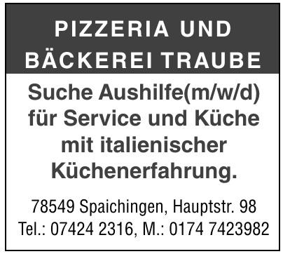 Pizzeria und Bäckerei Traube