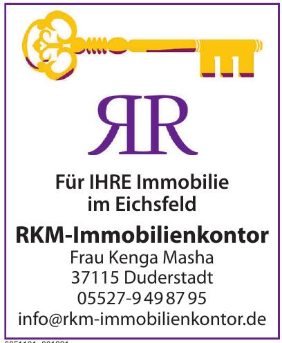 RKM-Immobilienkontor Frau Kenga Masha