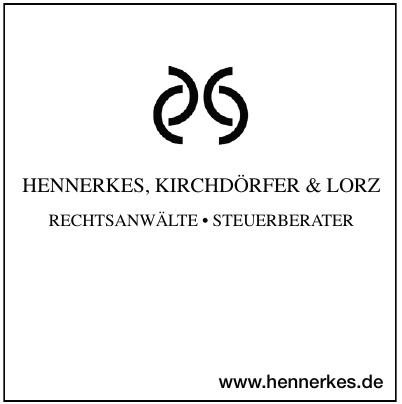 Hennerkes, Kirchdörfer & Lorz Rechtsanwälte
