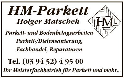 HM-Parkett Holger Matschek