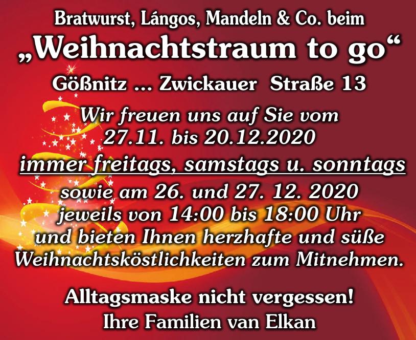 Bratwurst, Lángos, Mandeln & Co.