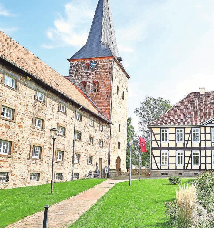 Das Kloster Wennigsen ist ein beliebter Ort in der Region Hannover, auch dank des Johanniterhauses.