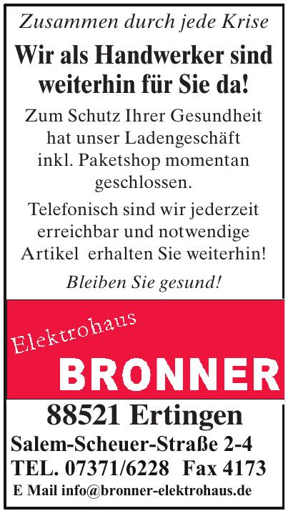 Elektrohaus Bronner