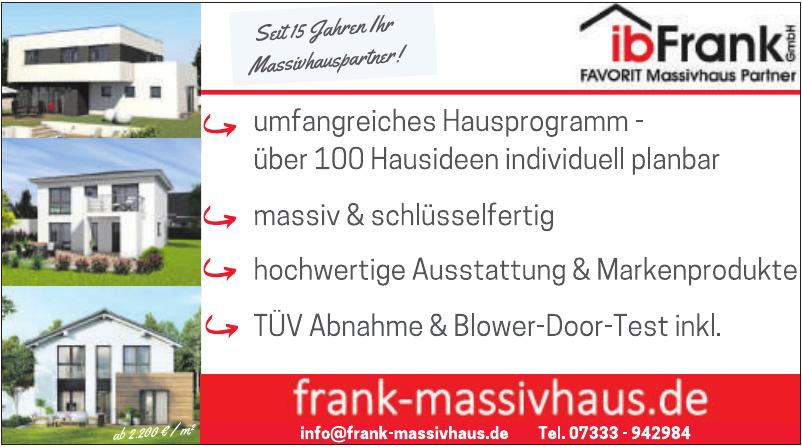ib Frank GmbH