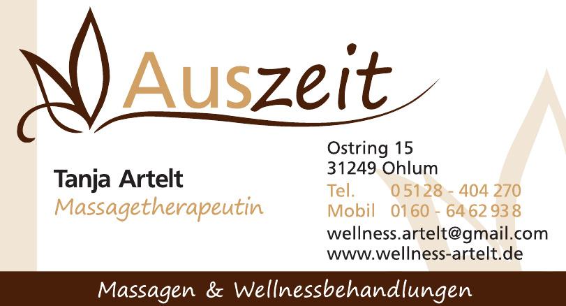 Auszeit Wellness