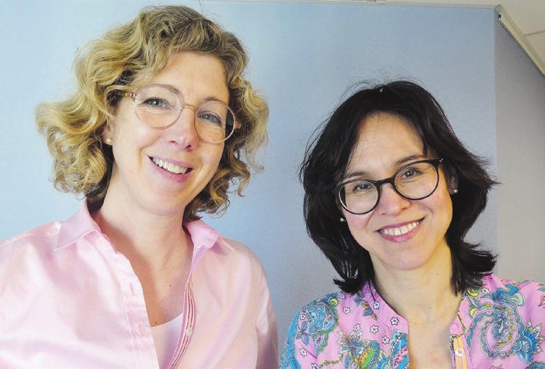 Dr. Kirsten Schem & Dr. Angela Carstensen FOTO: KINDERWUNSCHKIEL