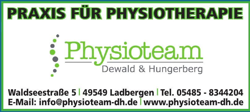 Praxis für Physiotherapie Dewald & Hungerberg