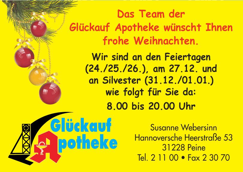 Glückauf Apotheke auf Telgte Susanne Webersinn e. K.
