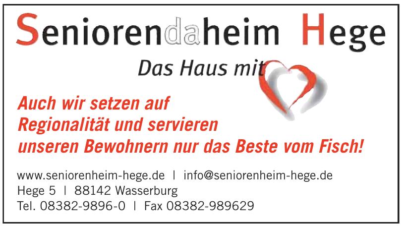 Seniorenheim Hege