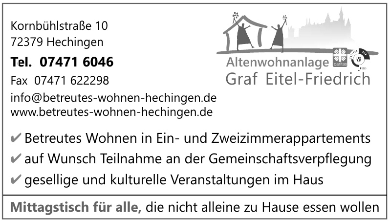 Altenwohnanlage Graf Eitel-Friedrich