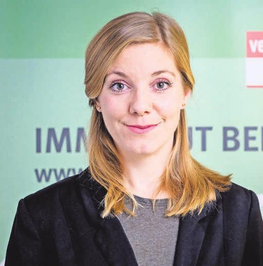 Michèle Scherer, VZB-Referentin. FOTO: A: WAGENZIK/VZB