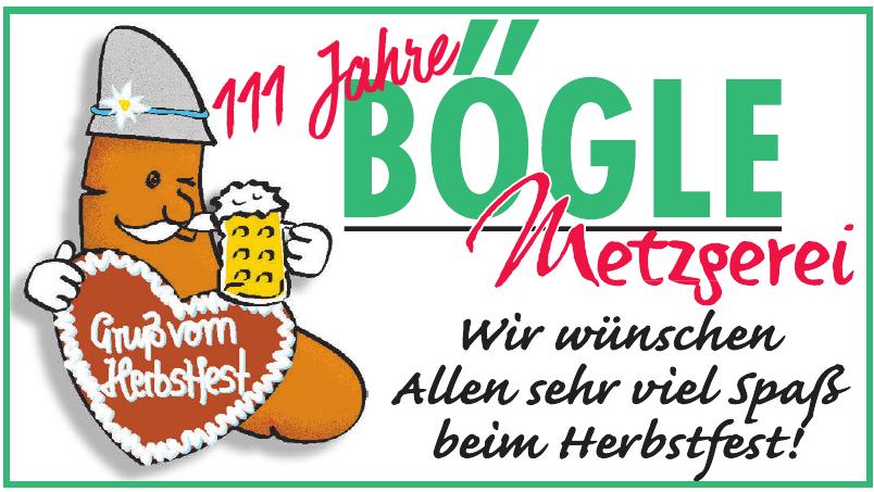 Metzgerei Bögle