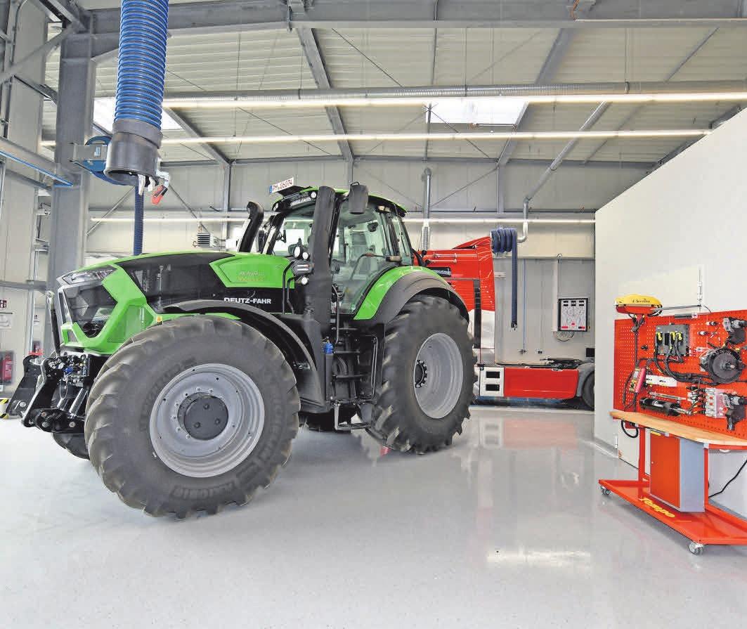 Auch die Landmaschinenmechatronik gehört zu den angebotenen Fachbereichen in Götz.FOTO: HANDWERKSKAMMER POTSDAM