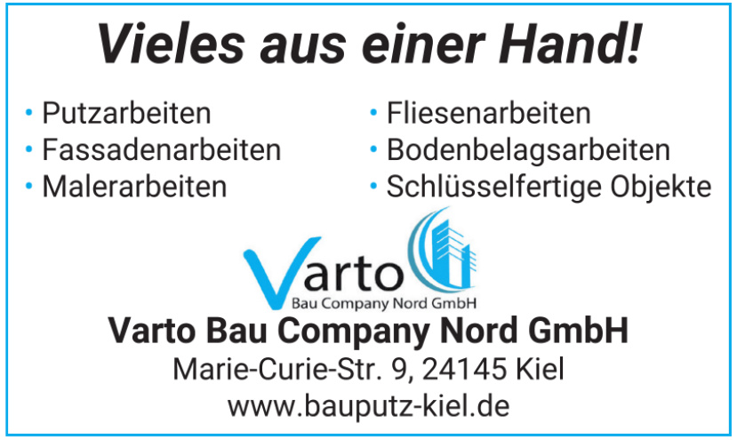 Varto Bau Company Nord GmbH