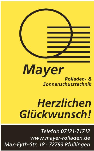Mayer Rolladen