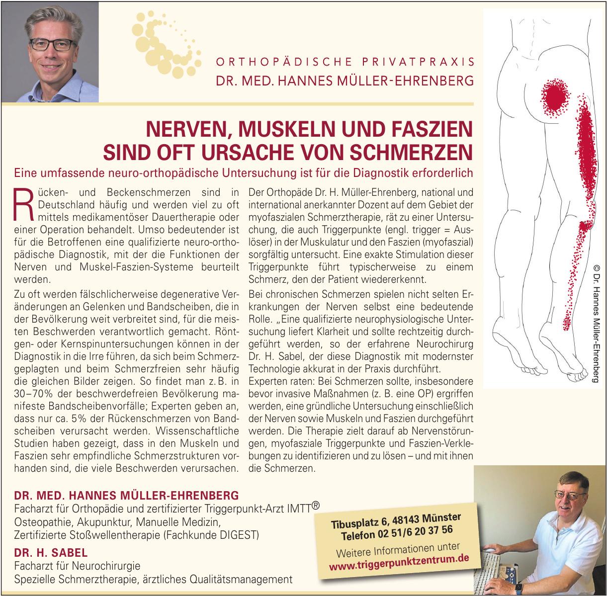 Orthopädische Privatpraxis Dr. med. Hannes Müller-Ehrenberg