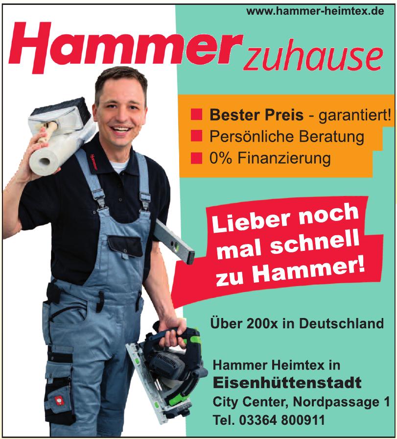 Hammer Heimtex in Eisenhüttenstadt