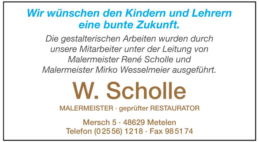 W. Scholle