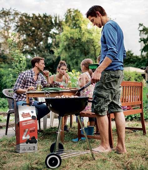 Indirektes Grillen eignet sich besonders für große Fleischstücke mit langer Garzeit. FOTO: DAUERBRENNER/ AKZ-O
