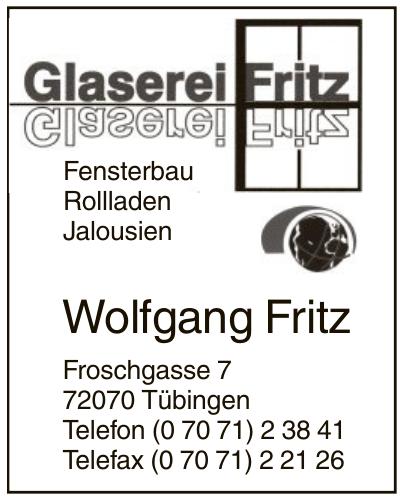 Glaserei Fritz - Wolfgang Fritz