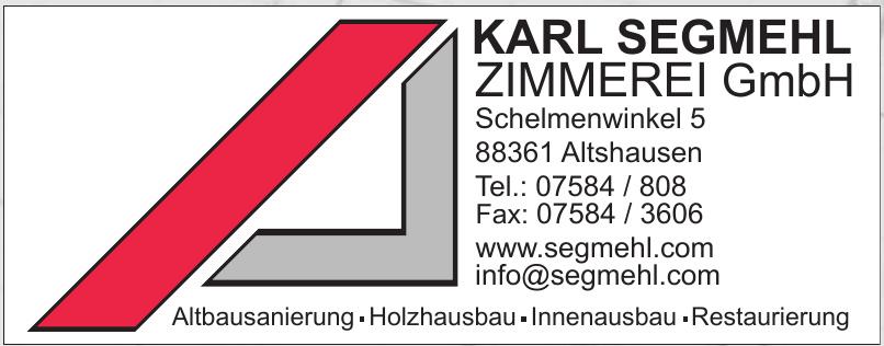 Karl Segmehl Zimmerei GmbH