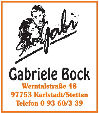 Gabriele Bock