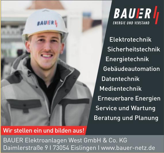 Bauer Elektroanlagen West GmbH & Co. KG
