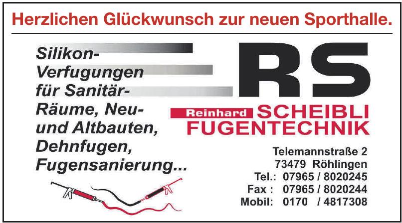 Reinhard Scheibli Fugentechnik