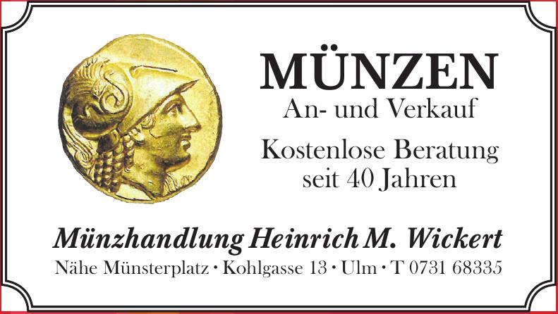 Münzhandlung Heinrich M. Wickert