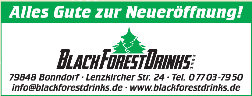 Black Forest Drinks GmbH
