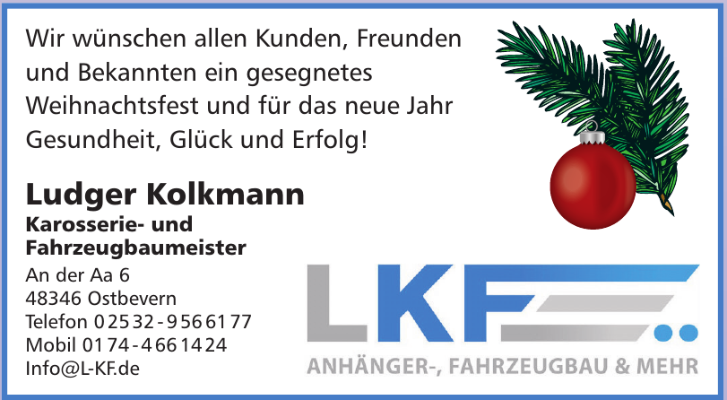 LKF | Ludger Kolkmann Fahrzeugbau