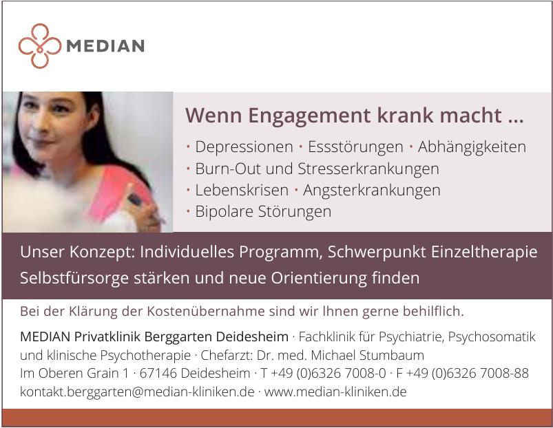 Median Privatklinik Berggarten Deidesheim