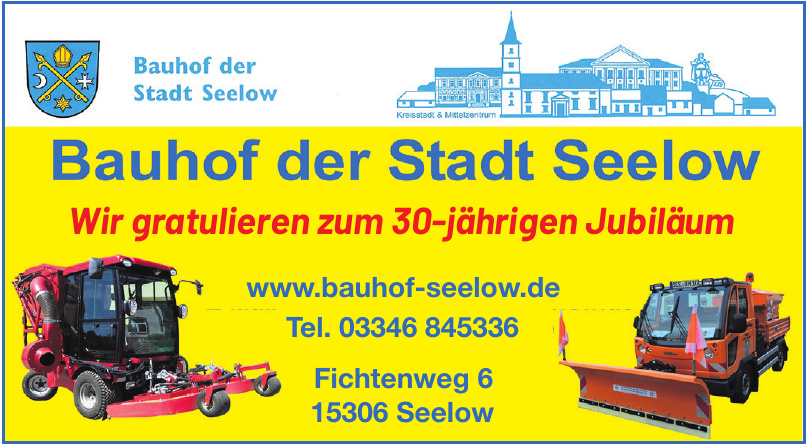 Bauhof der Stadt Seelow