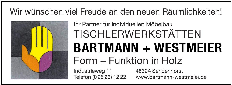 Tischlerwerkstätten Bartmann+Westmeier