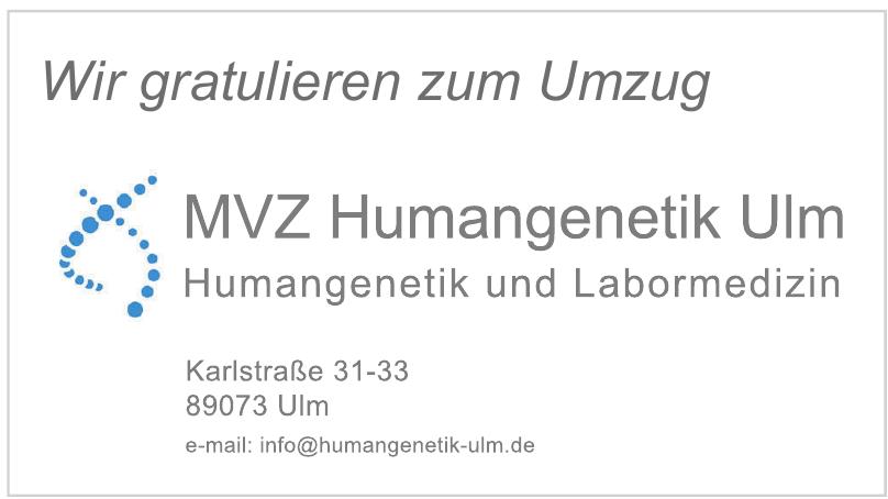 MVZ Humangenetik Ulm