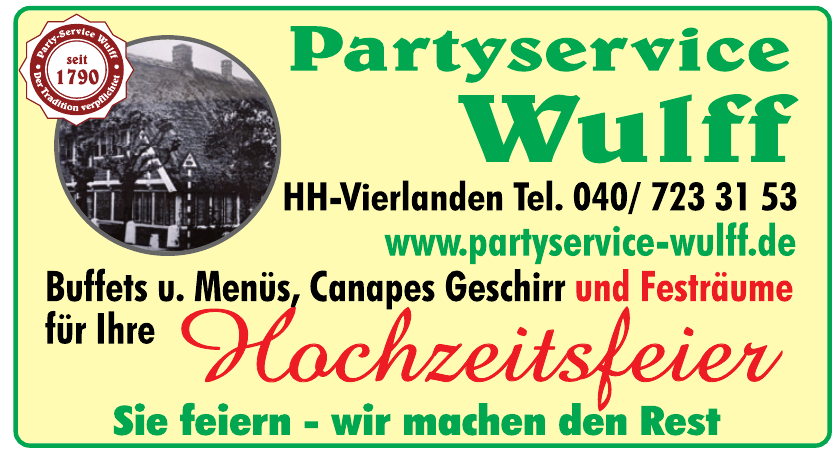 Partyservice Wulff
