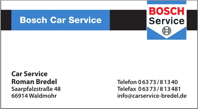 Car Service Roman Bredel