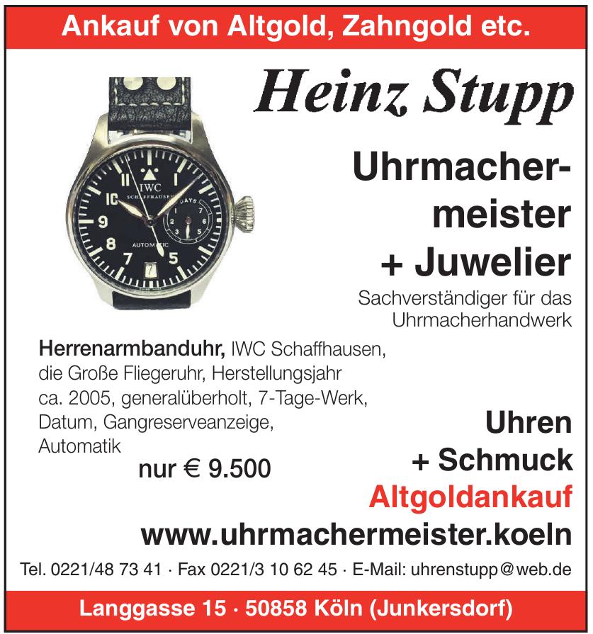Heinz Stupp