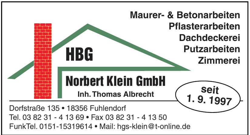 HBG Norbert Klein GmbH