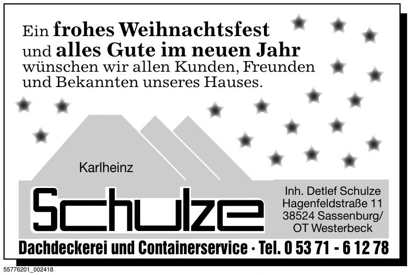 Karlheinz Schulze