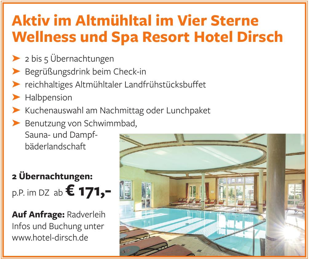 Wellness und Spa Resort Hotel Dirsch