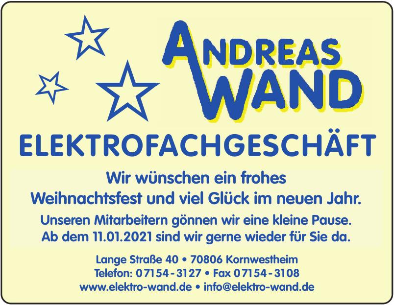 Elektro Wand
