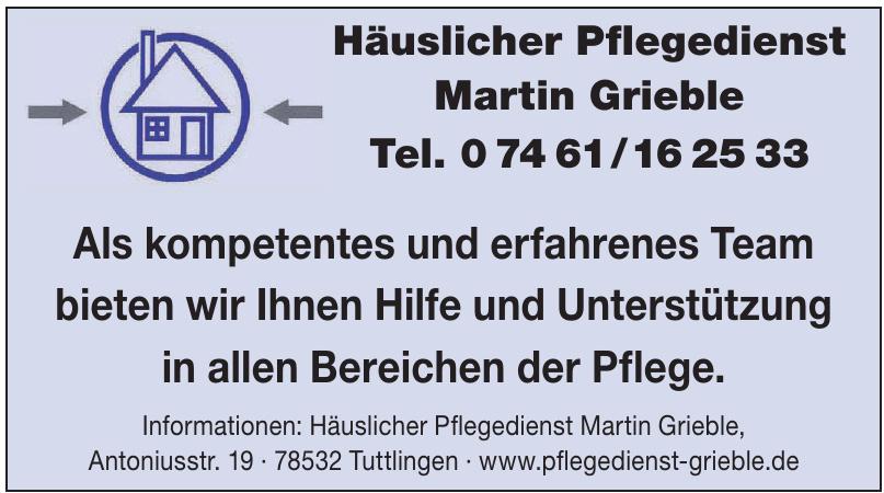 Häuslicher Pflegedienst Martin Grieble