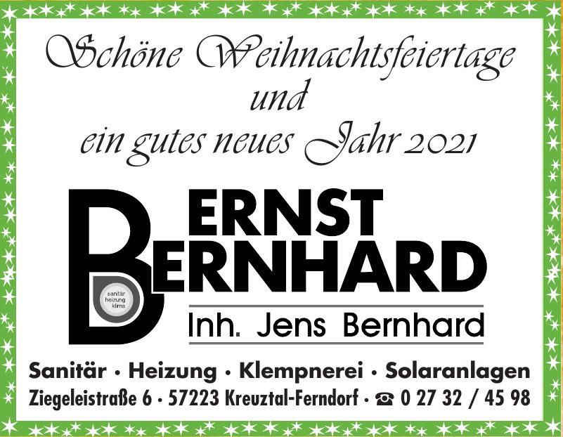 Bernst Bernhard