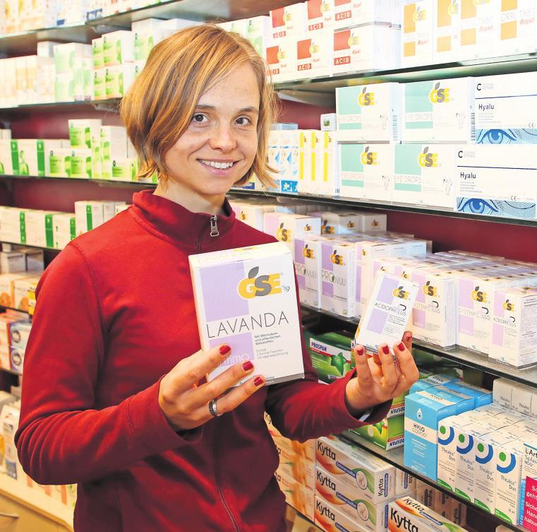 FÜR DEN GESUNDEN INTIMBEREICH: Beratung und Produkte bietet die Central-Apotheke. Foto: André Kempner