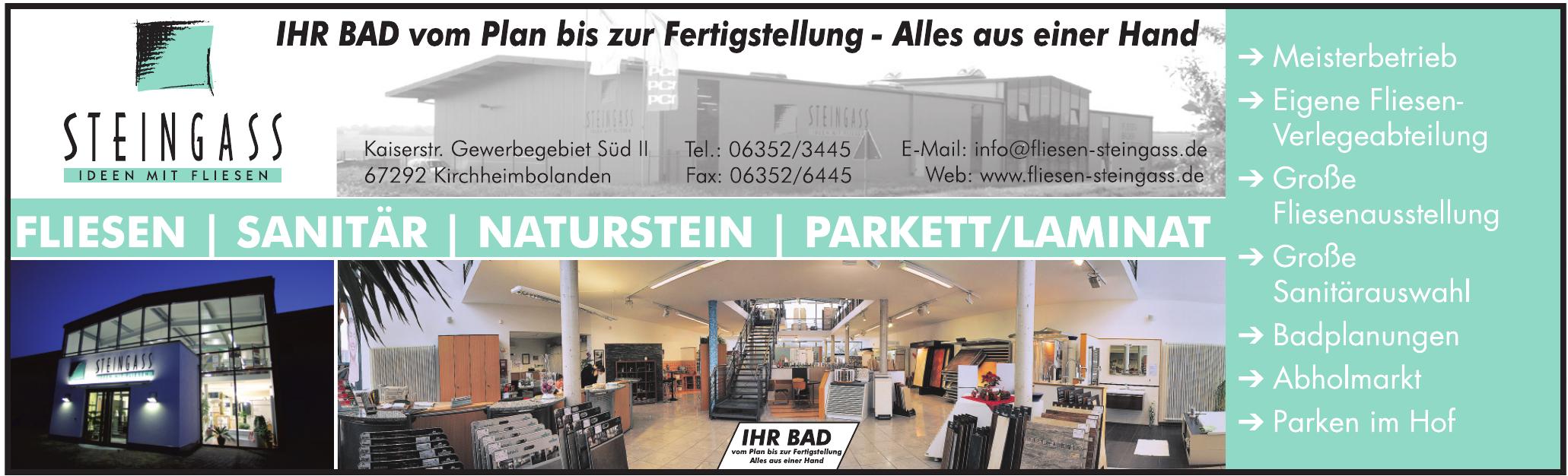 K.H. Steingass Fliesenfachgeschäft GmbH
