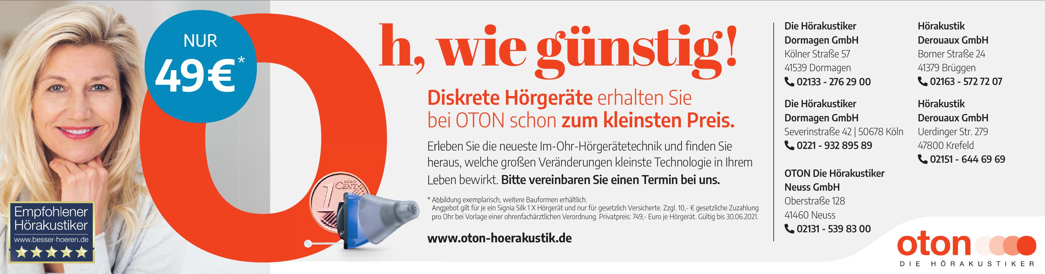 OTON Die Hörakustiker