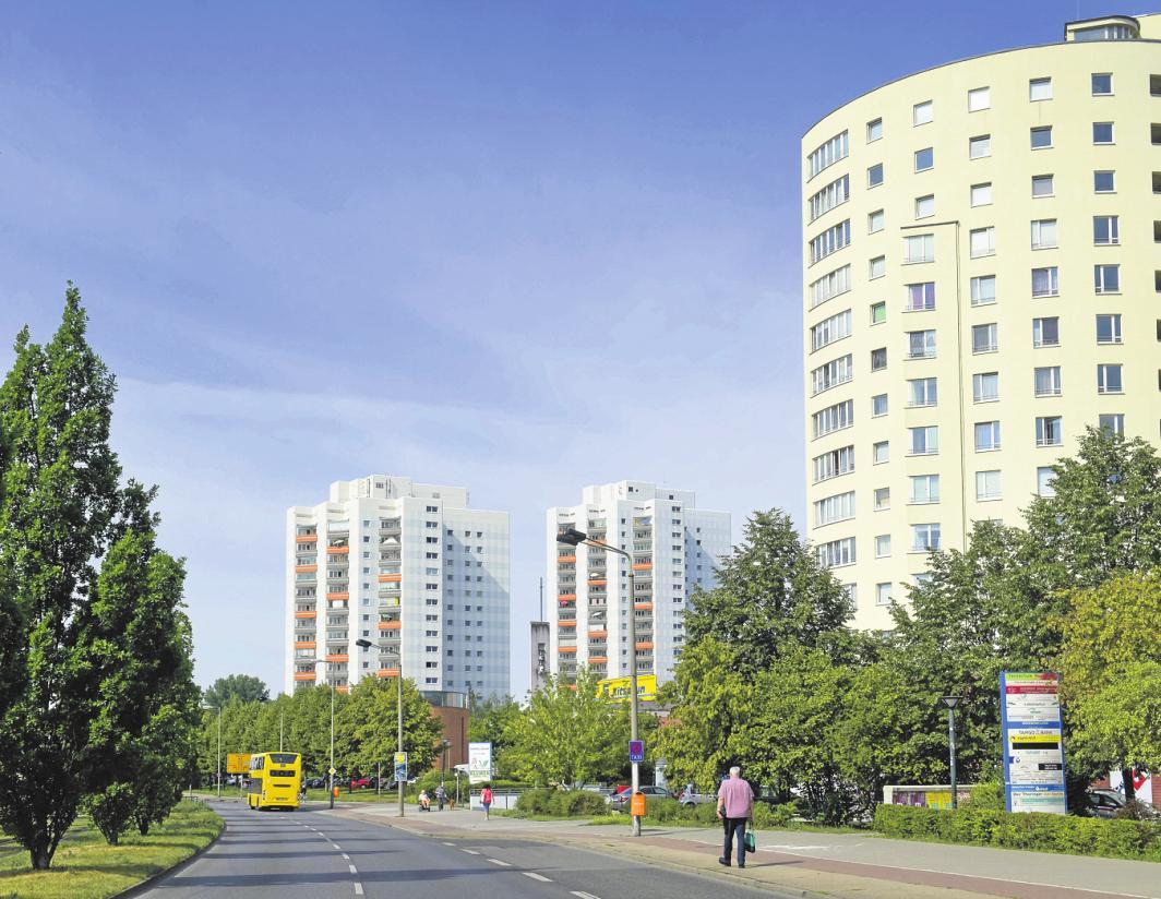 In Lichtenberg verteuerten sich 2019 Immobilien um etwa zehn Prozent – ein Spitzenwert. FOTO: SCHOENING / DPA